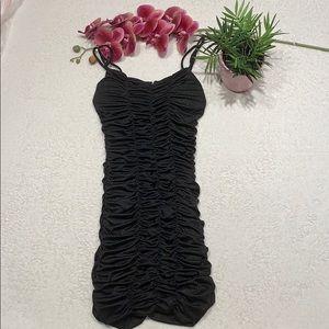 🔥 3/$20 Urban Behaviour Black and Gold Dress S 🌸